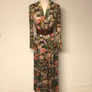 Vintage 1960's Kimono Style Gown